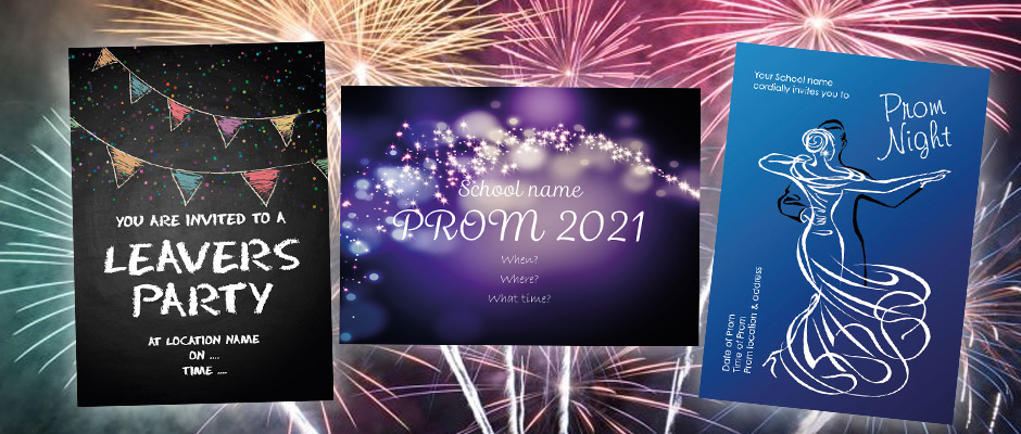 Free school leavers prom tickets