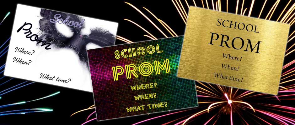 FREE Prom Tickets with Every Order!