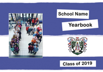 Sample 2019 yearbook cover