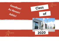Sample 2020 yearbook cover