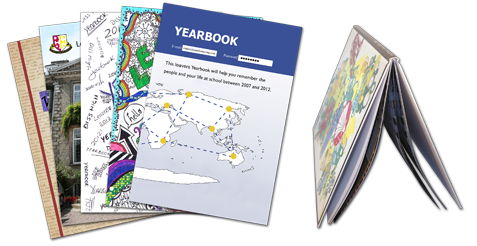 Hardback Gloss Laminated Yearbooks