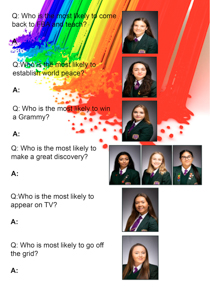 Year 11 sample yearbook page y11-p1