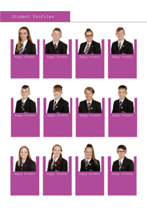 Year 11 sample yearbook page y11-p11