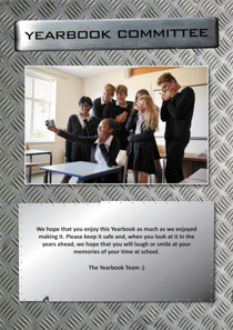 Year 13 sample yearbook page y13-p8