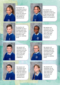 Year 6 sample yearbook page y6-p3