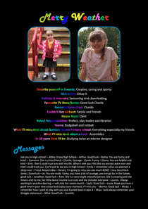 Year 6 sample yearbook page y6-p5