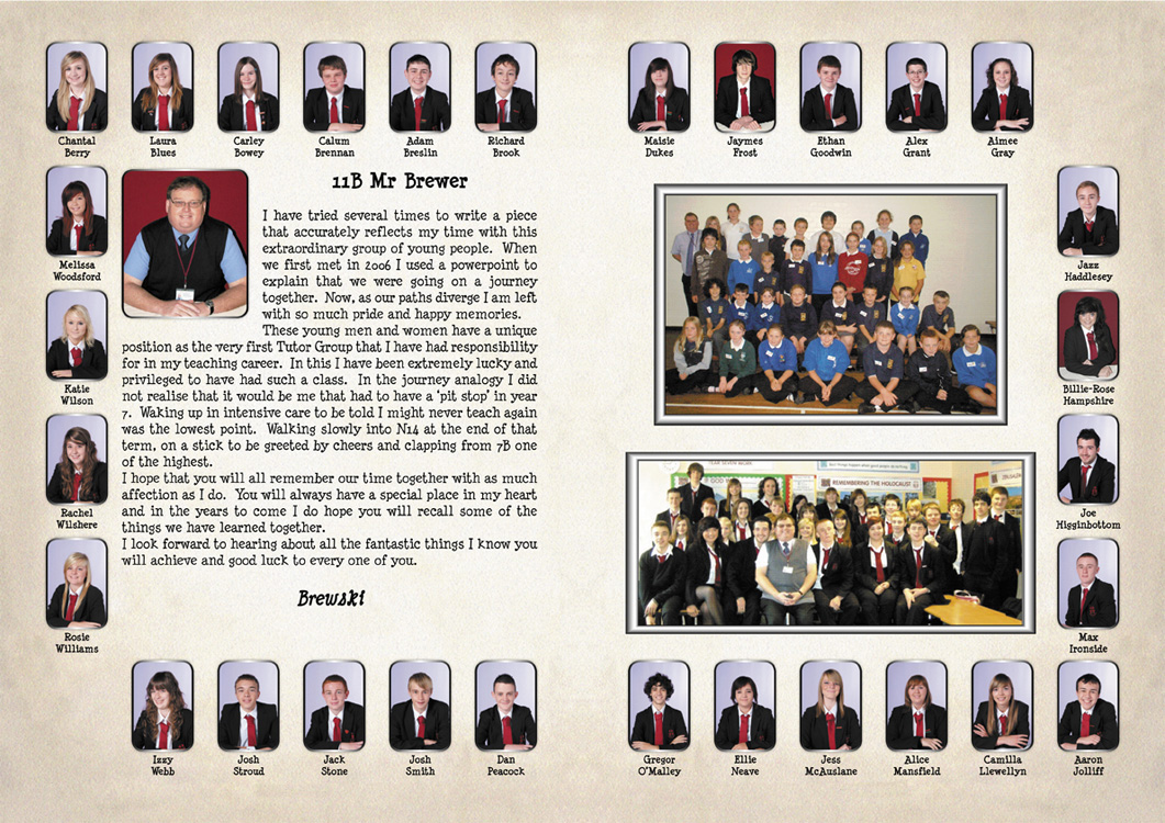 sample yearbook