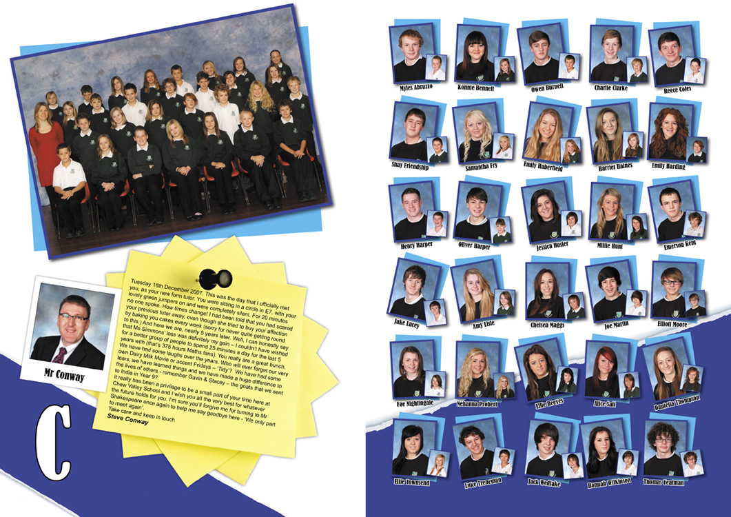 School yeabook page samples hardy39s yearbooks for Yearbook template powerpoint