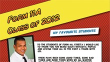Yearbook Layout Templates - Samples 01