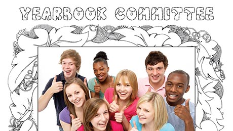 Free school yearbook leavers book templates hardys yearbooks colouring book theme school yearbook templates toneelgroepblik Gallery