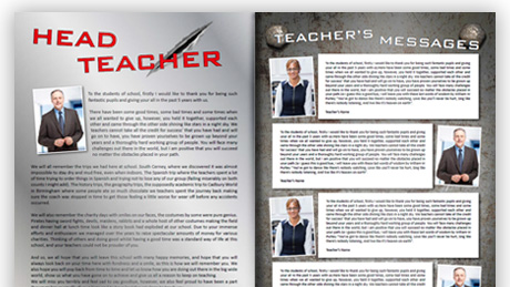 free school yearbook amp leavers book templates hardys