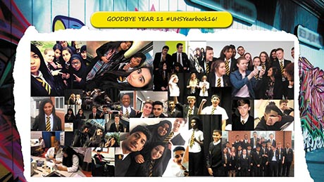 Urban Theme School Yearbook Templates