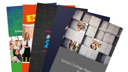 Yearbook cover Options