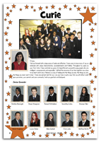 Sample year book page 25