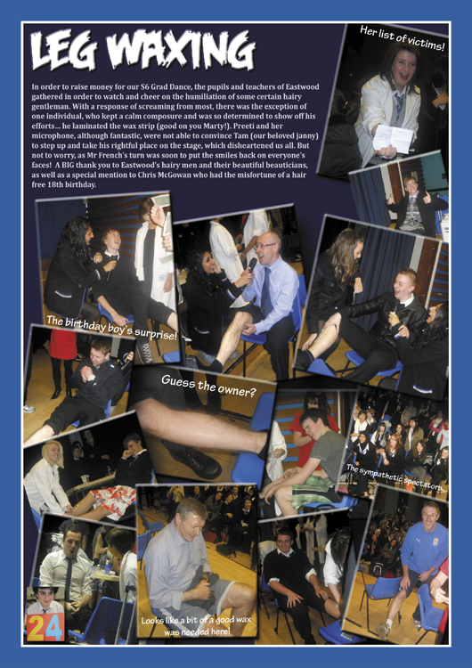 year 13 yearbook sample pages